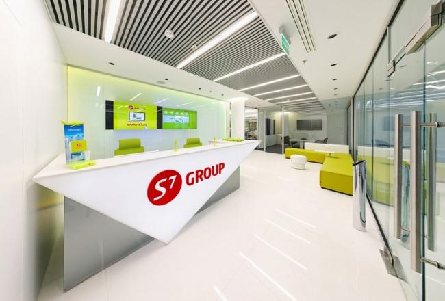 Приз зрительских симпатий.  Офис компании S7 Airlines.  Архитектурное бюро Группы компаний Гинт-М