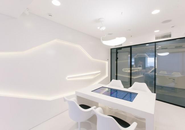 Светодизайн.  Банк SIAB Premium Club (г.Санкт-Петербург).  Архитектурное бюро Gullstén-Inkinen Design&Architecture