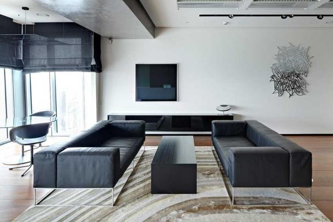 Лучший кабинет руководителя.  Кабинет в офисе группы компаний SNS.  Архитектурное бюро ABD architects