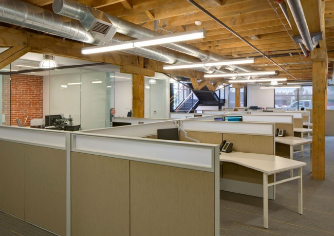 Лучший зарубежный проект. Офис Turner Construction (Коламбус, Огайо, США). Архитектурное бюро m+a  Global  Architects