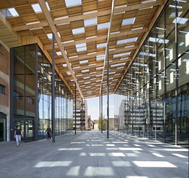 Центр искусств и культуры Безансона © Michel Denancé