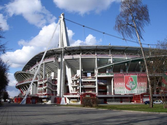 Стадион «Локомотив», 2002, Москва. Андрей Боков, Дмитрий Буш, Сергей Чуклов. Источник: arch-grafika.ru
