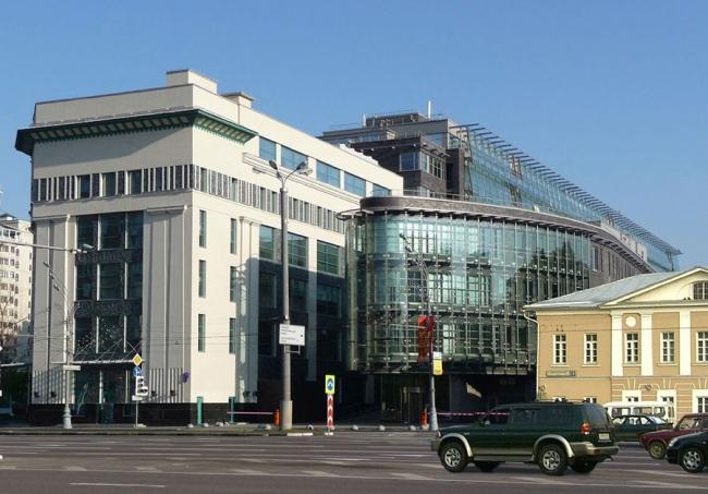Эрмитаж Плаза, 2005, Москва. Сергей Киселев и Партнеры. Источник: www.2do2go.ru
