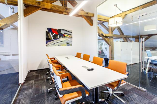 Интерьер офиса Roof point