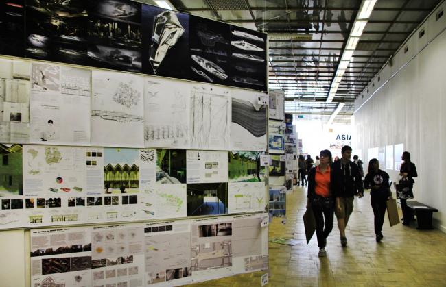 Выставка Archiprix. Фотография Ю.Тарабариной