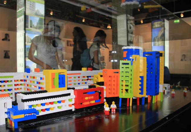 Макет центра Гематологии, сделанный из lego. Фотография Ю.Тарабариной