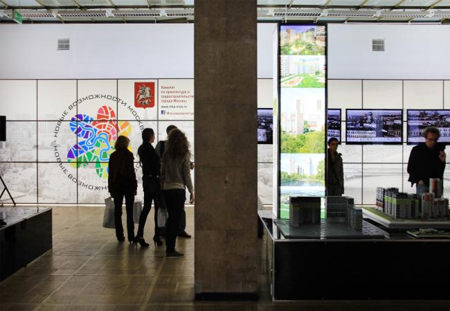 Выставка «Новая Москва». Фотография Ю.Тарабариной