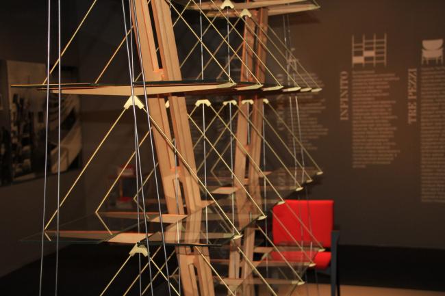 Выставка мебели фабрики CASSINO по проектам архитектора Франко Альбини. Фотография Ю.Тарабариной