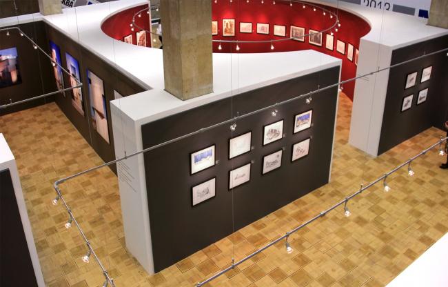 «Музей архитектурного рисунка» SPEECH Чобан&Кузнецов. Фотография Ю.Тарабариной
