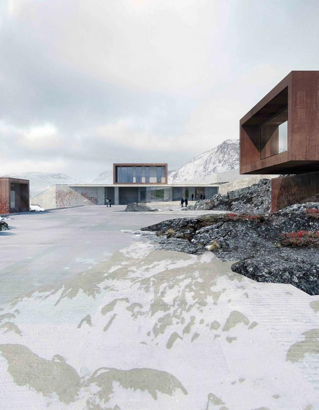 Исправительное учреждение Ny Anstalt © Schmidt Hammer Lassen Architects