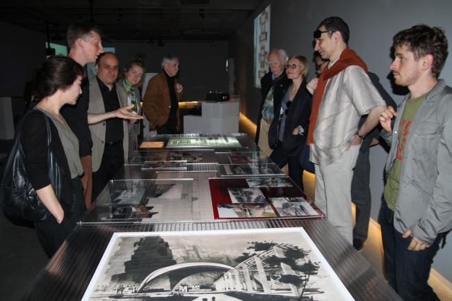Участники конференции советского модернизма. Архитектурный центр SALT Galata, Стамбул. Фото: В. Белоголовский