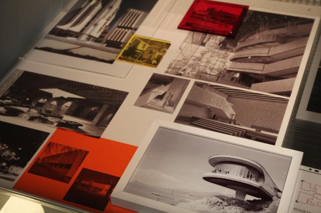 Фрагмент выставки Trespassing Modernities. Архитектурный центр SALT Galata, Стамбул. Фото: В. Белоголовский