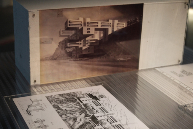 Фрагмет выставки Trespassing Modernities. Архитектурный центр SALT Galata, Стамбул. Фото: В. Белоголовский
