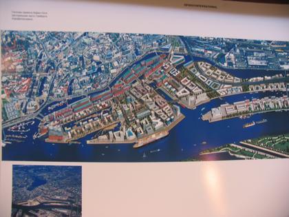 Проект нового района Хафен-Сити в Гамбурге. Мастер план - Рэм Колхаас, Эрик Ван Эгерат.