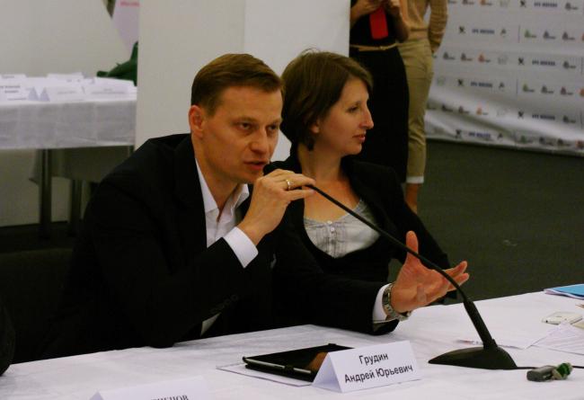 Андрей Грудин, гендиректор компании «Пионер». Фотография А. Павликовой
