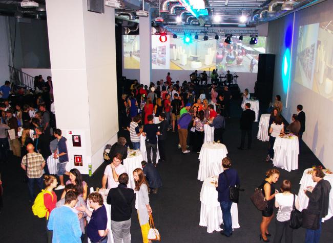 Церемония награждения в зале ДНК. Фотография А. Павликовой