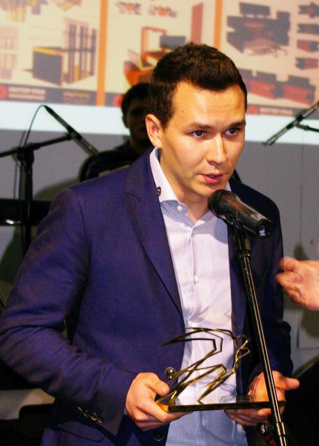 Обладатель Гран-При Премии Next+ Георгий Маркарьян. Фотография А. Павликовой