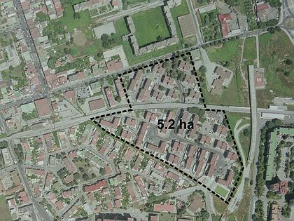 De Gasperi Housing development - концептуальное предложение по застройке 5,2 гектаров на периферии Неаполя