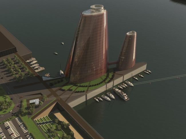 Градостроительная концепция комплексного освоения поймы реки Царицы в Волгограде