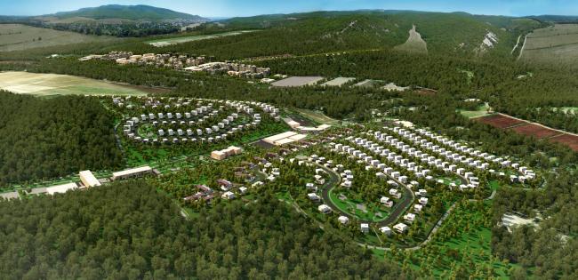 Концепция развития территории в поселке Сукко в Краснодарском крае