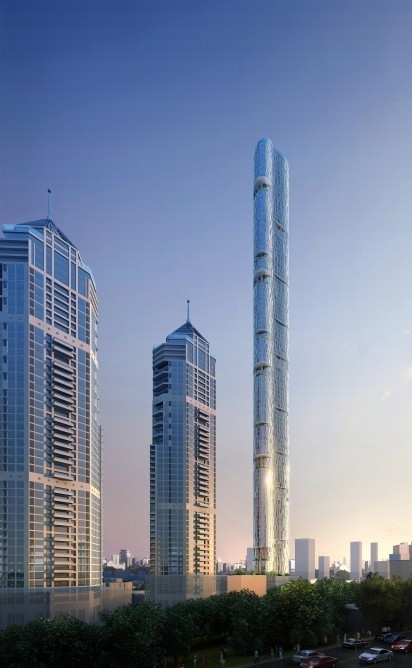 Башня Imperial Tower © Adrian Smith + Gordon Gill Architecture