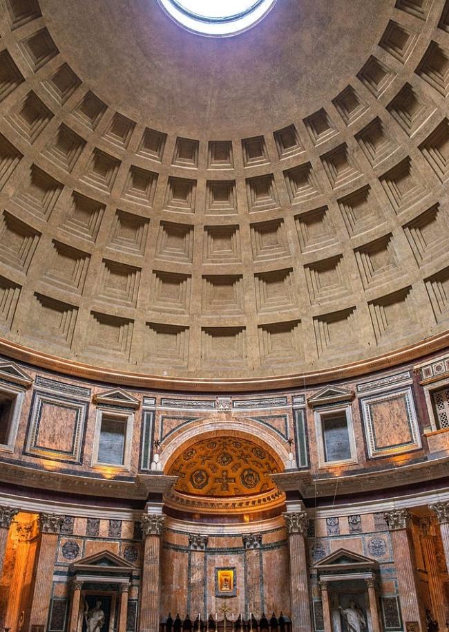 Пантеон в Риме. Фото Bengt Nyman