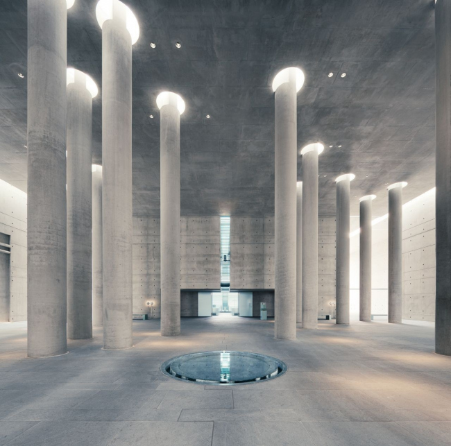 Аксель Шультес. Крематорий Баумшуленвег в Берлине. 1999. Фото © Mattias Hamrén