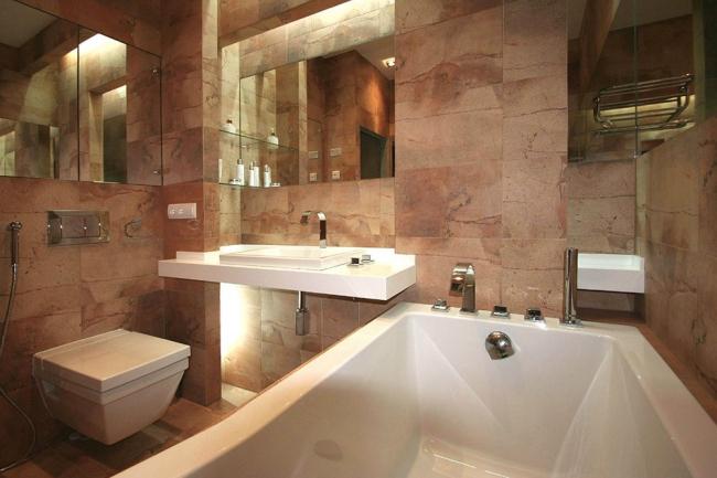 Ванная комната. Второе место. Обычная ванная. Автор: Михаил Ченцов. Фотография: pinwin.ru