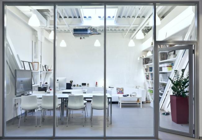 Креативный офис. Второе место. «Офис для Архитектора». Москва. Автор: Бадалян Тигран, Studio-ta. Фотография: pinwin.ru