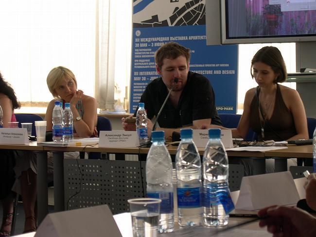 На круглом столе. команда проекта «Свобода доступа»