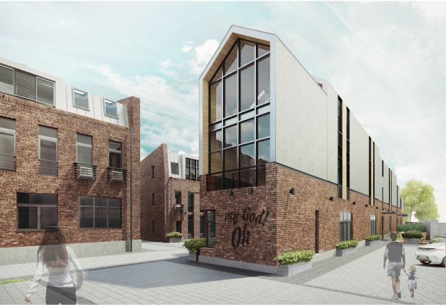 Реновация промышленной территории под лофт-квартал апартаментов Studio #8 © Т+Т Architects