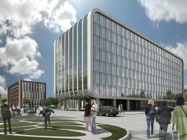 Строительство и реконструкция административно-складского комплекса в Автомобильном проезде в Москве