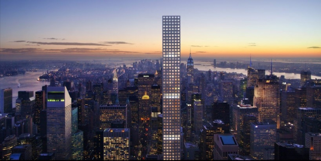 Небоскреб 432 Park Avenue © dbox for CIM Group & Macklowe Properties