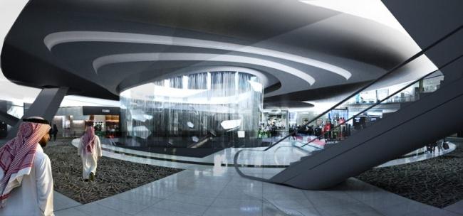 Станция метро Каср аль-Хукум © Snøhetta Arkitektur Landskap AS