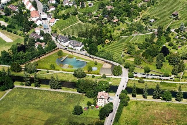Комплекс Naturbad в Риэне  © Herzog & de Meuron
