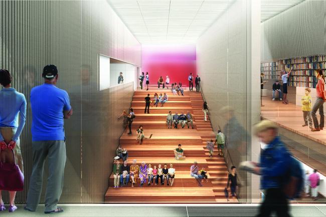 Филиал Нью-йоркской публичной библиотеки на 53-й улице © TEN Arquitectos