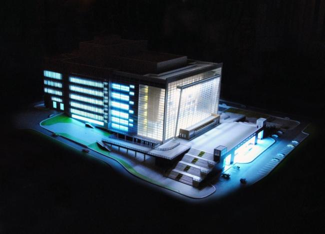 Театр оперы и балета во Владивостоке. Проект. Источник - http://www.omgp.ru/