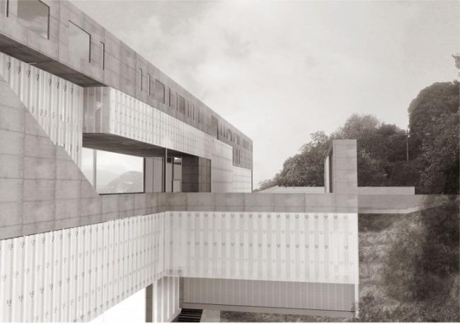 Центр инновации в Пьемонте (Centro per l-Innovazione Piemonte). Андреас Бринкман (Германия). Фотография: archiprix.org