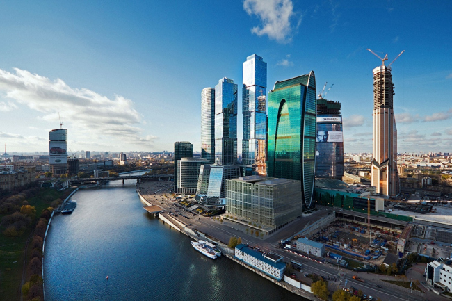 "Architectural concept of the mixed-use development ""Empire Tower – Second Stage"" as part of ""Moscow City"""
