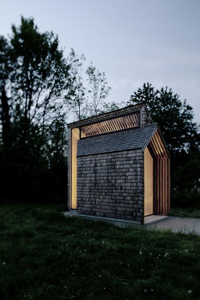 Часовня в деревне Нонсбах (Rural Chapel Nonsbach). Franz Koppelstätter (Австрия). Фотография: archiprix.org