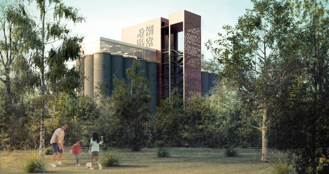 Урбанистическая рециркуляция (Urban recycling: library park as the regenerating element). Camila da Rocha Thiesen (Бразилия). Фотография: archiprix.org