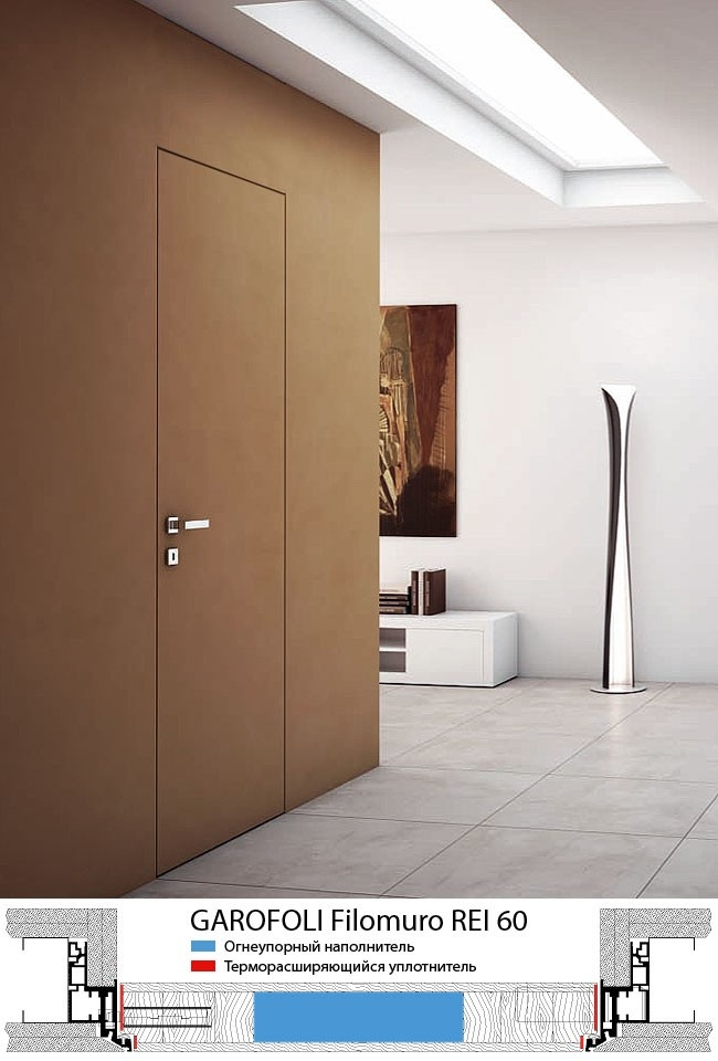 Дверь Filomuro REI. Фотография предоставлена компанией «Триумфальная марка»