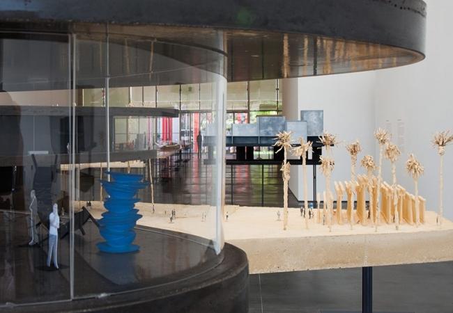 Новое здание Музея искусств округа Лос-Анджелес LACMA © 2013 Museum Associates / LACMA