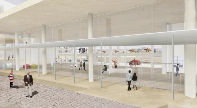 Новый кампус Академии искусств «Бецалель» © SANAA