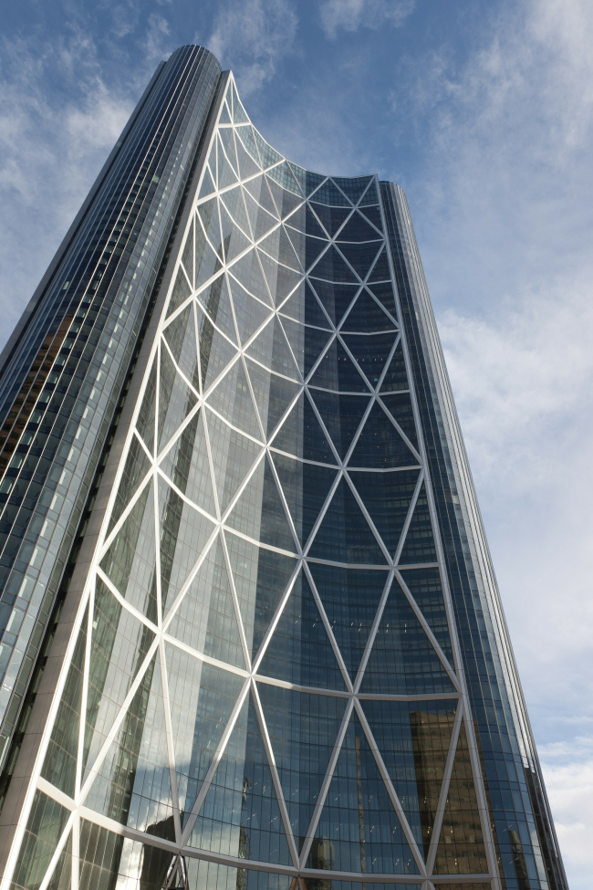 Башня The Bow © Nigel Young – Foster + Partners