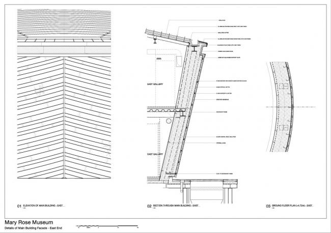 Музей «Мэри Роуз» © Wilkinson Eyre Architects