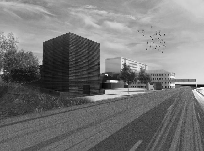 Баня по-черному. Проект Анны Шевченко