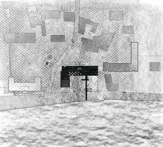 Ситуация. Баня по-черному. Проект Анны Шевченко