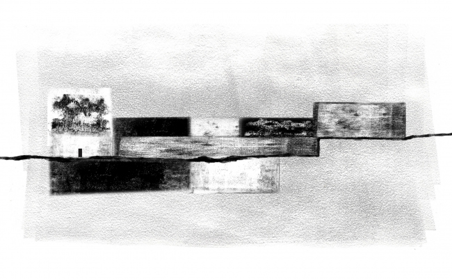 Фасад. Баня по-черному. Проект Анны Шевченко