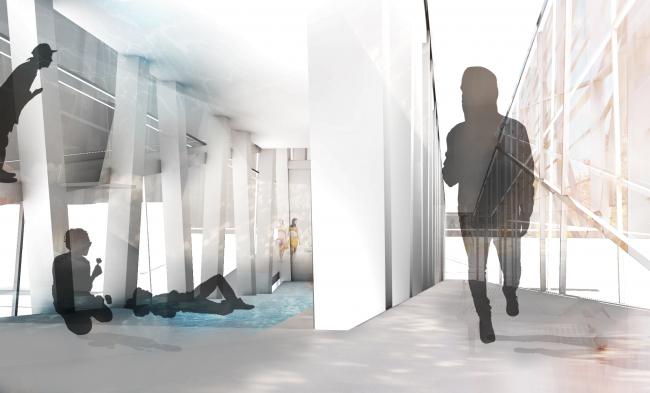 Интерьеры. Вертикальная баня. Проект Ивана Грекова